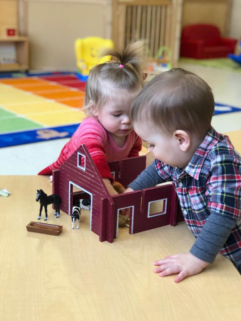Montessori daycare Cambridge - Toddlers